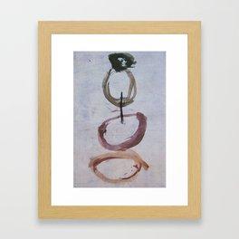 Inside Out Framed Art Print