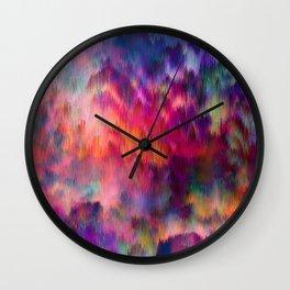 Sunset Storm Wall Clock