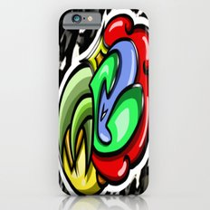 Digital Abstract Graffiti #4 iPhone 6s Slim Case