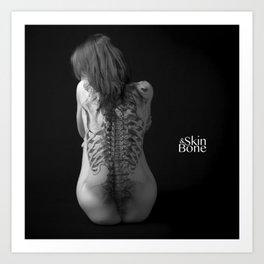 Skin & Bone 2 Art Print