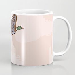 Flying Ducks Coffee Mug