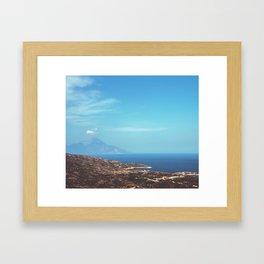 Beautiful Greece Framed Art Print