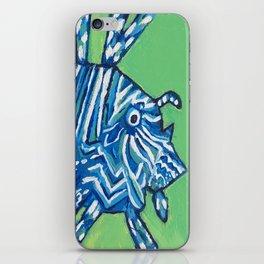Lion Fish 2, a pretty predator & invasive species iPhone Skin