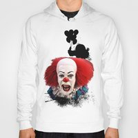 Hoodies featuring Pennywise the Clown: Monster Madness Series by SB Art Productions