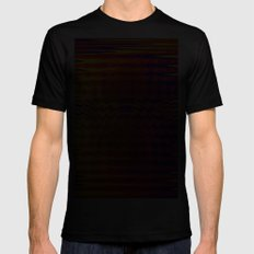 Ripples in a dream Black Mens Fitted Tee MEDIUM