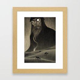 Jackals and Arabs Framed Art Print