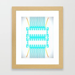 Strings Attached Framed Art Print