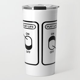 PLAY:LIFE by Kabeljau Travel Mug