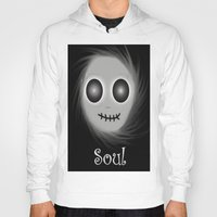 soul Hoodies featuring Soul by LCMedia