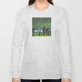 Gustav Klimt - Slope at Unterach Long Sleeve T-shirt