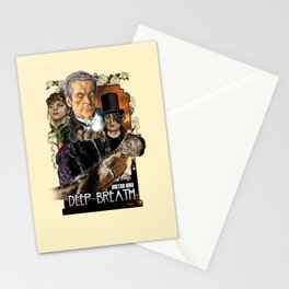 Doctor Who: Deep Breath Stationery Cards