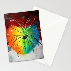 Colorful fireworks Stationery Cards