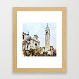 San Giorgio Dei Greci Church Framed Art Print