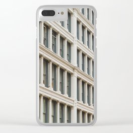 Column by Column in Soho Clear iPhone Case