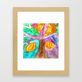 Happy Tree Framed Art Print