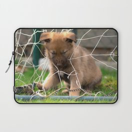 Goalkeeper of the new generation Laptop Sleeve