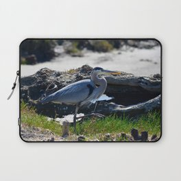 posing heron Laptop Sleeve