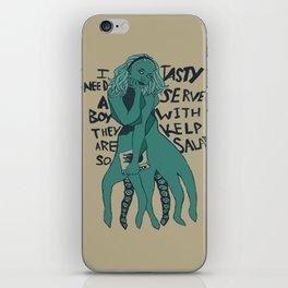 I Need a Boy iPhone Skin