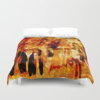 dreamcatcher Duvet Covers featuring Dreamcatcher by valzart