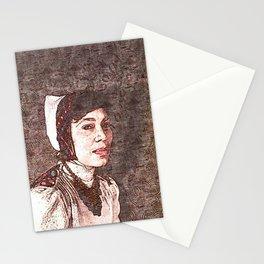 Zora Neale Hurston - Society6 Black Greatness Art - BLM - 01-06-2021 - 7 Stationery Cards