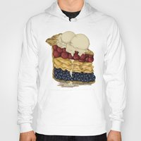 pie Hoodies featuring American Pie by Megs stuff...