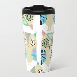 Owls pattern Travel Mug