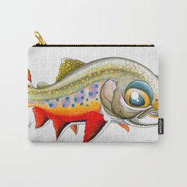 Baby Brook Trout Carry-All Pouch