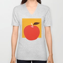 apple Unisex V-Neck