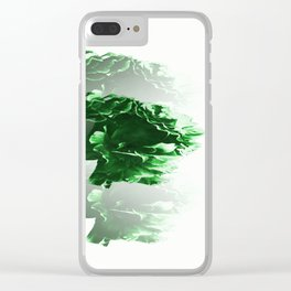 Seamless Gr Clear iPhone Case
