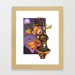 Halloween Candy! Framed Art Print