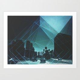 tron. Art Print