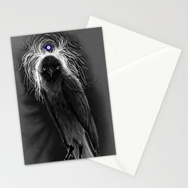 Evil Eye Jackdaw Stationery Cards