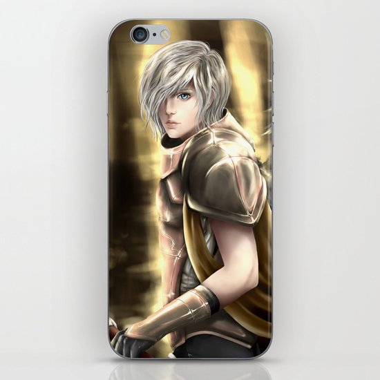 Angel Warrior iPhone & iPod Skin