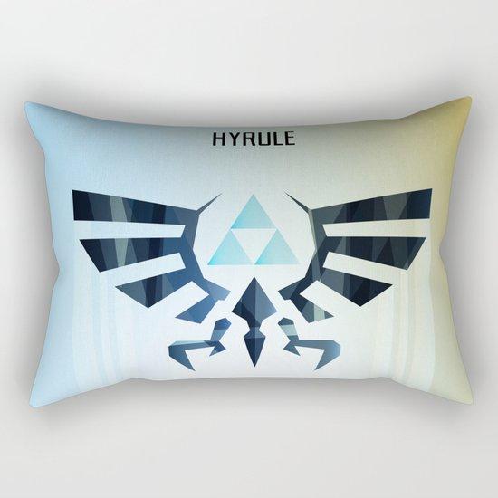 The Legend of Zelda - Hyrule Rising Poster Rectangular Pillow
