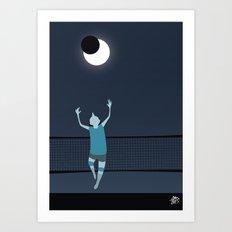 Moon Riser Art Print