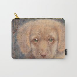 Retriever puppy Carry-All Pouch