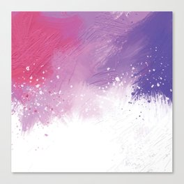 Paint Brushing Canvas Print
