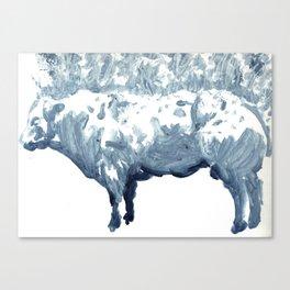 Cow 01 Canvas Print