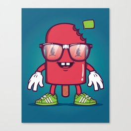 Popsicle - Food Series Guys Canvas Print