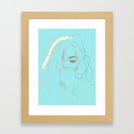Larimar I. Framed Art Print
