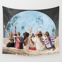 peace Wall Tapestries featuring Peace by Cs025