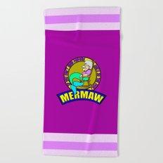 Mermaw   Beach Towel