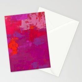 Color Splendor No.1p by Kathy Morton Stanion Stationery Cards