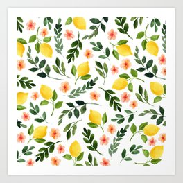 Lemon Grove Art Print