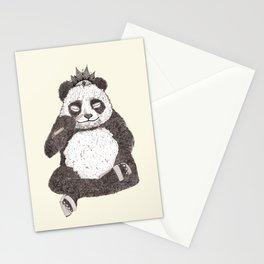 Panda - meditates like Buddha Stationery Cards