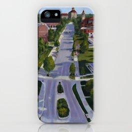 Rock Chalk Jay Hawk iPhone Case