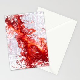 The Red Figure Stationery Cards