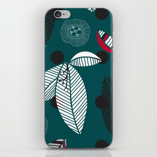 graphically leaves iPhone & iPod Skin