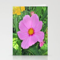 cosmos Stationery Cards featuring Cosmos by Bella Mahri-PhotoArt By Tina