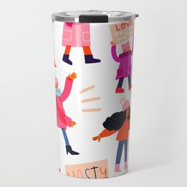 Marching Together Travel Mug